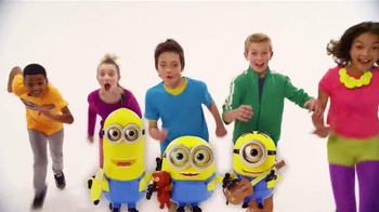 Minions Talking Action Figures TV Spot, 'Kevin, Bob and Stuart'