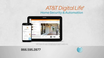 AT&T Digital Life Smart Security TV Spot, \'Protect & Manage Your Home\'