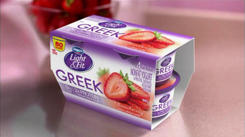 Dannon Light & Fit Greek Yogurt TV Spot, 'No Ordinary Low-fat Yogurt'  - Thumbnail 9