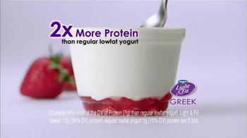 Dannon Light & Fit Greek Yogurt TV Spot, 'No Ordinary Low-fat Yogurt'  - Thumbnail 2