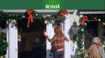 Activia TV Spot, 'Christmas Decorations' Featuring Jamie Lee Curtis