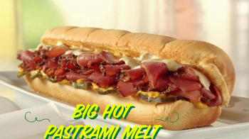 Subway Big Hot Pastrami Melt TV Spot, 'Perfect Pastrami' - Thumbnail 2