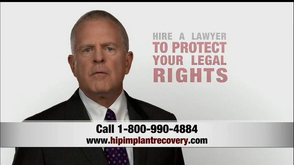 Pulaski Law Firm >> Parker McDonald Trial Lawyers TV Commercial, 'Hip Implant Lawyers' - iSpot.tv