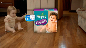 Pampers Cruisers TV Spot, 'Crawling' - Thumbnail 6