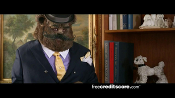 FreeCreditScore.com TV Spot, 'Fancy Bear Slider'