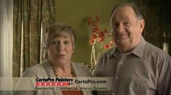 CertaPro Painters TV Spot
