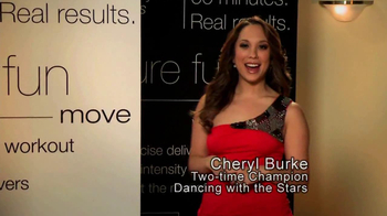 Jazzercise TV Spot Featuring Cheryl Burke