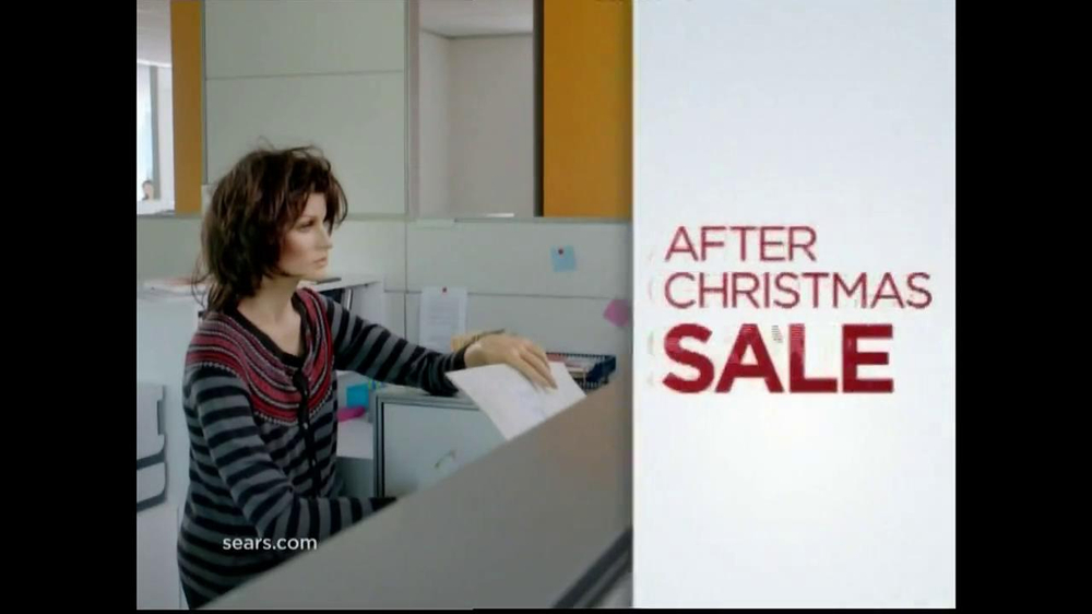Sears After Christmas Sale TV Commercial 'Mannequin Mary' - iSpot.tv