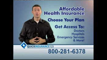 Quick Insurance 123 TV Spot, \'Healthcare Breakthrough\'