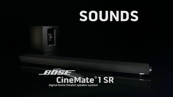 Bose CineMate 1SR TV Spot, 'Sounds of the NFL' - Thumbnail 2