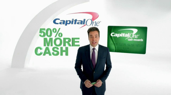 Capital One Cash Rewards Card TV Spot, 'No' Featuring Jimmy Fallon - Thumbnail 2