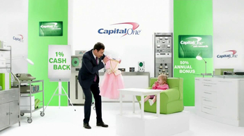 Capital One Cash Rewards Card TV Spot, 'No' Featuring Jimmy Fallon - Thumbnail 3