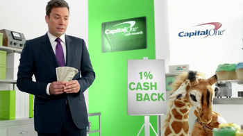 Capital One Cash Rewards Card TV Spot, 'No' Featuring Jimmy Fallon - Thumbnail 5
