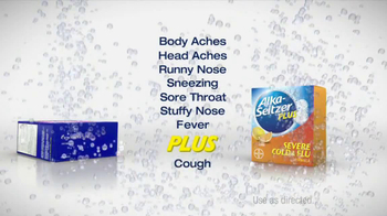 Alka-Seltzer Severe Cold and Flu TV Spot, 'Cold Truth: Flu Cough' - Thumbnail 6