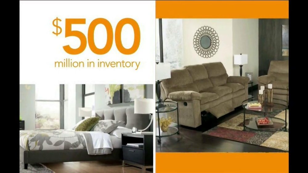 Ashley Furniture Homestore National Sale And Clearance Tv Commercial