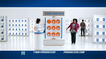 Progressive Name Your Price Tool TV Spot, 'Empowered' - Thumbnail 1