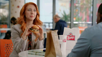 Wendy's Spicy Santa Fe Cheeseburger TV Spot, 'Billion-Degree Burrito' - 666 commercial airings