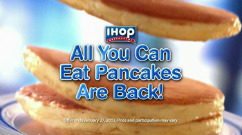 IHOP TV Spot, 'All You Can Eat Pancakes' - Thumbnail 2