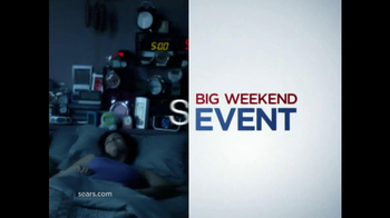 Sears Big Weekend Event TV Spot, 'Whatever It Takes: Alarm Clocks'