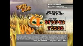 Jamster TV Spot 'Tiger Boo' - Thumbnail 7