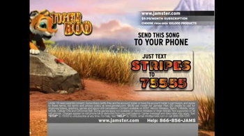 Jamster TV Spot 'Tiger Boo' - Thumbnail 4