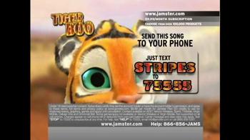 Jamster TV Spot 'Tiger Boo' - Thumbnail 5