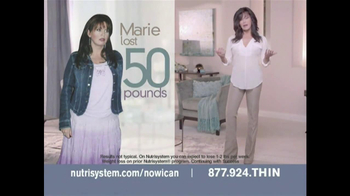 Nutrisystem TV Spot Featuring Marie Osmond - Thumbnail 1