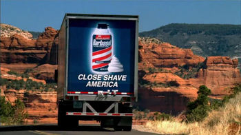 Barbasol TV Spot 'Looking Good America'