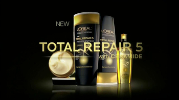 Loreal Total Repair 5 TV Spot Featuring Lea Michele - Thumbnail 3