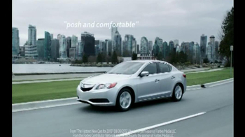 2013 Acura ILX TV Spot, 'Forbes Review'