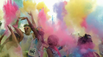 GE Appliances TV Spot, 'Tomato Battle and Color Run'