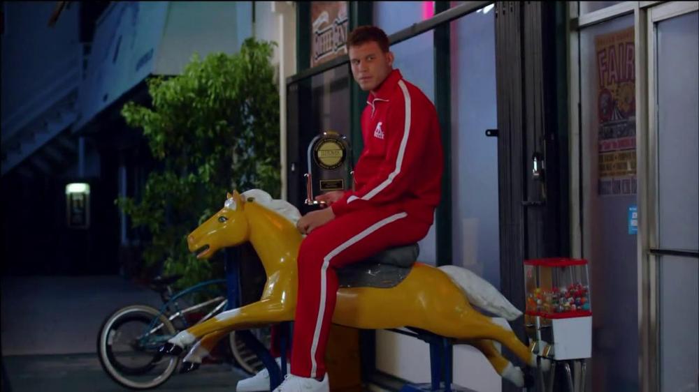 Blake Griffin Kia Optima Commercial Time Travel