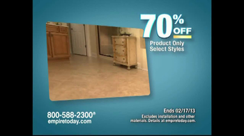 Empire Today Warehouse Sale TV Commercial, 'Feb. 2013' - iSpot.tv