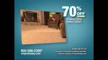 Empire Today Warehouse Sale TV Commercial, '70% on Carpet' - iSpot.tv