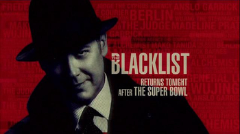 NBC: The Blacklist Fourth Quarter Super Bowl 2015 TV Promo