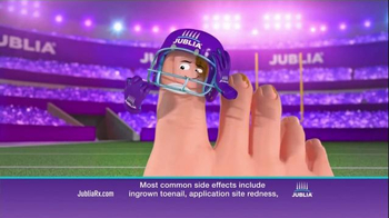 Jublia Super Bowl 2015 TV Spot, \'Tackle Toe Fungus\'