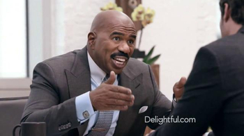 Delightful.com TV Spot, 'What Kind of Person to Meet' Feat. Steve Harvey