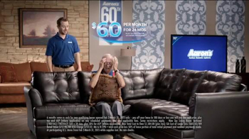 Aaron's 60th Anniversary Sale TV Spot, 'Wakes You Up'