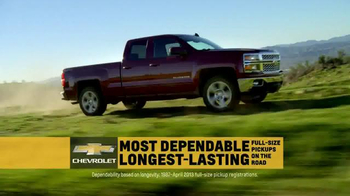 2015 Chevrolet Silverado TV Spot, 'Dependability' Song by Kid Rock