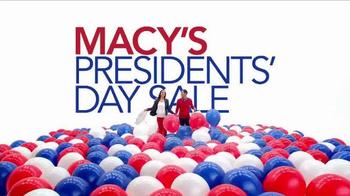 Macy's Presidents Day Sale TV Spot, 'Sportswear, Suits, Ties, Jewelry'