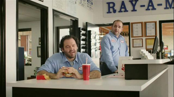 Wendy's Bacon & Blue on Brioche TV Spot, 'Ray-A-Motive'
