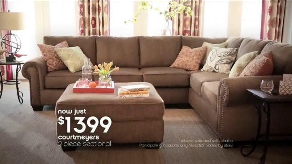Ashley Furniture President s Day TV mercial Red
