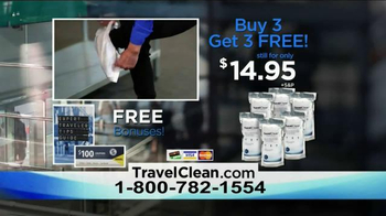 Travel Clean TV Spot, 'Stay Protected' - Thumbnail 10