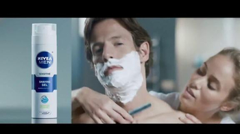 Nivea Sensitive Shaving Gel TV Spot, 'Wrecking Ball'