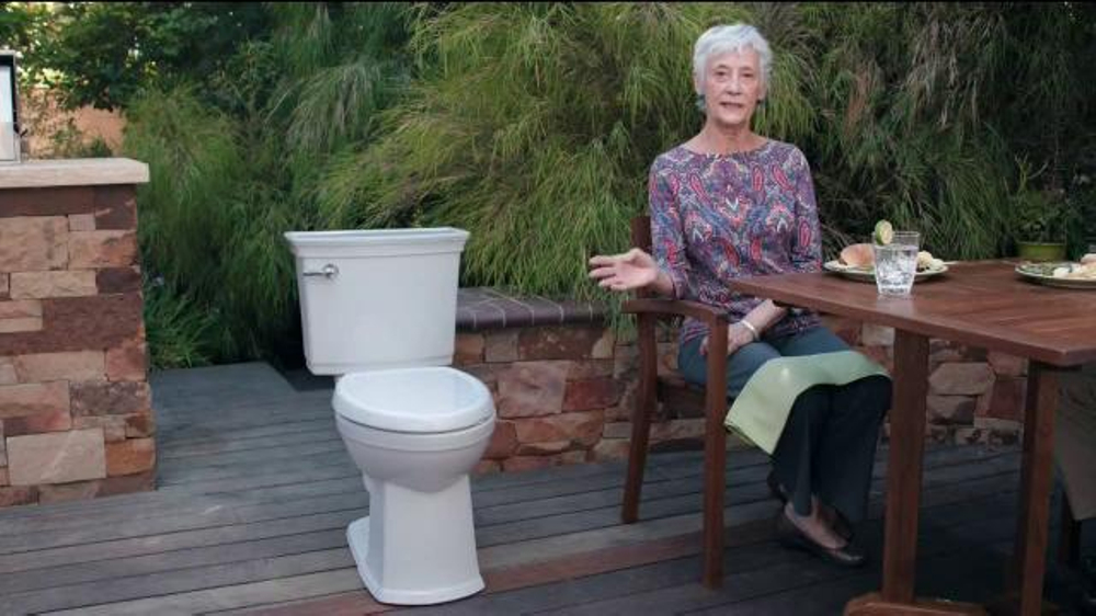American Standard Vormax Toilet Tv Commercial Splatter