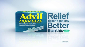Advil Liqui-Gels TV Spot, 'Faster, Stronger'