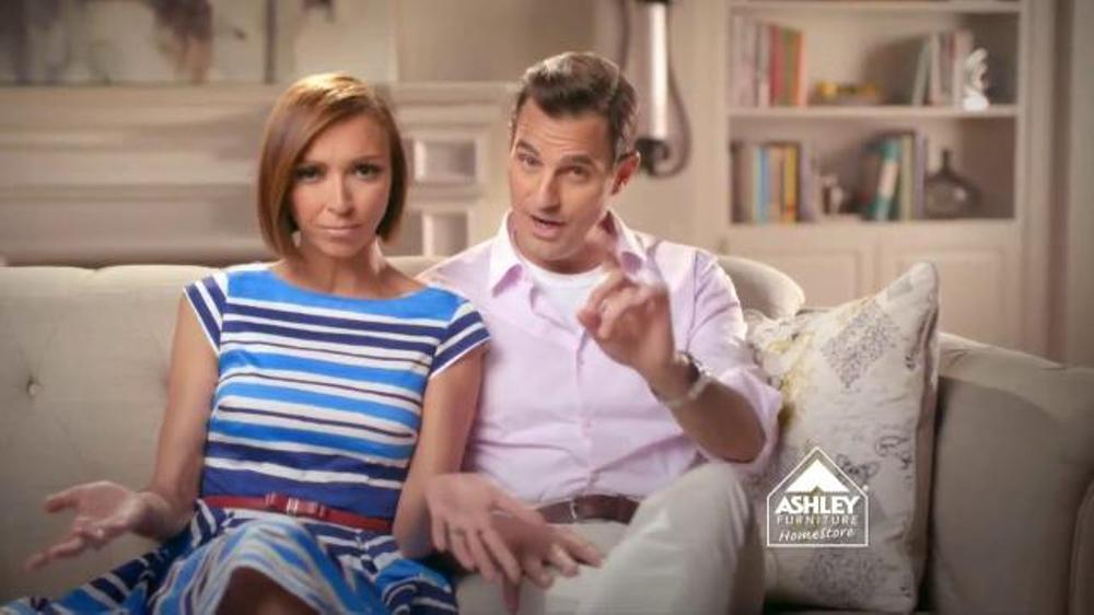 ashley furniture stars stripes tv spot ft giuliana and bill rancic