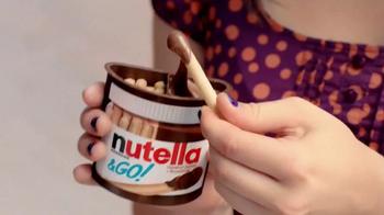 Nutella & Go! TV Spot, 'Happy to Go'