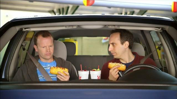 Sonic Drive-In Cheesy Bread Dogs TV Spot, 'Outside Counts'