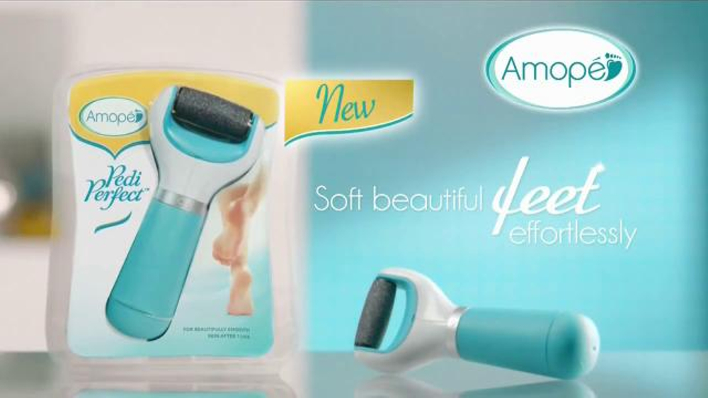 amop u00e9 pedi perfect tv commercial   u0026 39 for beautifully smooth skin u0026 39